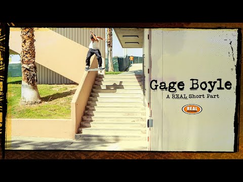 Image for video Gage Boyle : A REAL Short Part