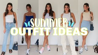 SUMMER OUTFIT IDEAS   Casual And Dressy Lookbook 2020