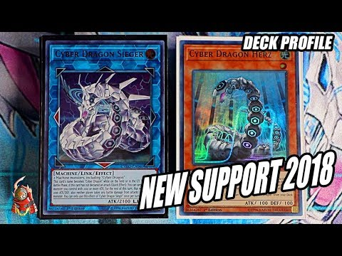 Yu-Gi-Oh! BEST! CYBER DRAGON DECK PROFILE! NEW LINK SUPPORT! + OTK COMBOs! JULY 2018! (Post CYHO)