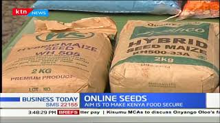 ONLINE SEEDS: How farmers can select the right seeds to plant   THE NEXT FRONTIER