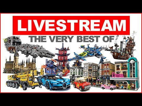 LEGO SPEED BUILD The Very Best Of All Sets