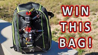 URUAV UR7 Pro FPV Backpack Review & Giveaway ????????????