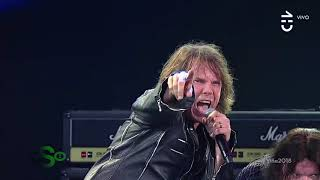 Europe - Scream Of Anger (Live In Viña del Mar 2018)