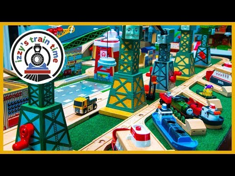 Thomas and Friends Trains Planes and Automobiles   Fun Toy Trains for Kids