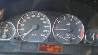 BMW e46 328 acceleration 0-100 - manifold m54b30 + DISA = 6,5s