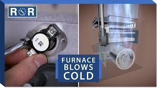 Furnace Not Blowing Hot Air - Explained | Repair and Replace