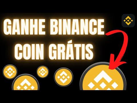 Ganhe Binance Coin BNB Grátis | Como Ganhar Criptomoedas Grátis