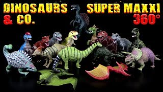 DeAgostini ® Dinosaurs & Co - Super Maxxi Edition - 360° !!! 16 XXL Dinosaurier im Vergleich !!!