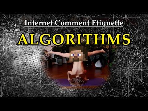 """Internet Comment Etiquette: """"Algorithms"""""""