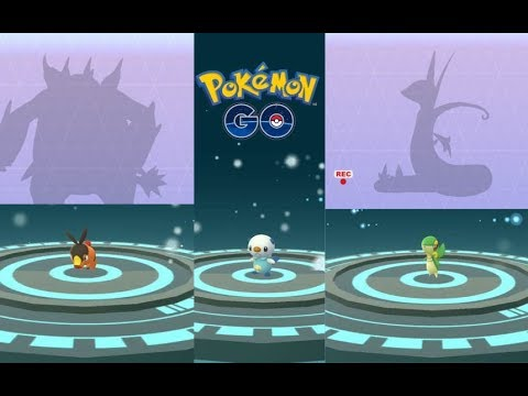 Unova Gen 5 Starter Pokemon Evolution Tepig, Snivy, Oshawott and Klink more!