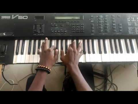 African gospel piano worship chords in Db