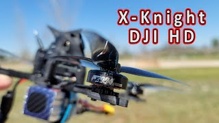 T-Motor 2004 ❎ X-Knight 5 DJI FPV Conversion ????️