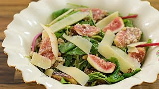 Fig  & Goat Cheese Salad Recipe