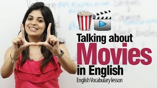 Talking About Movies In English  Free Spoken English Lesson ESL