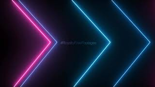 neon background video loop | Animated Video Background - Saber Lighting Frame for Edits, neon lines