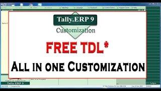 tally customization - मुफ्त ऑनलाइन वीडियो