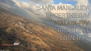 preview picture of video 'Record Personal #1 / Santa Margalida / Comet FPV'