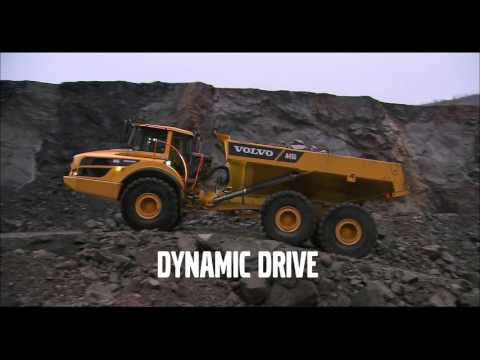 Volvo A45G ADT in action