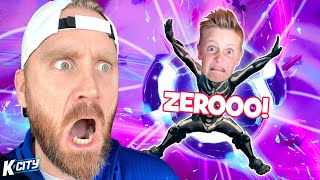 Fortnite Zero Point ONLY Challenge!! K-CITY GAMING