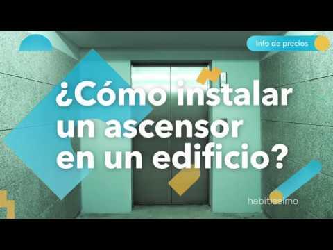¿Cómo instalar un ascensor en un edificio? - habitissimo