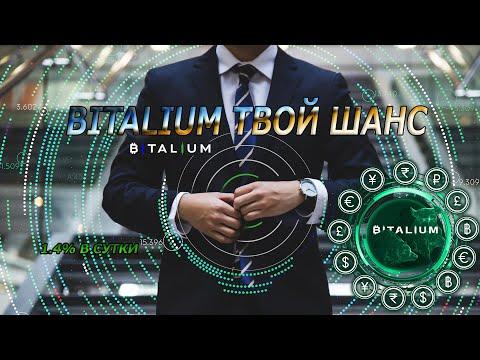 BITALIUM ОБЗОР ИНВЕСТИЦИЯ 100$