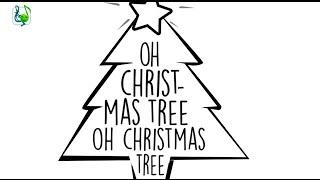 O Christmas tree carol with lyrics