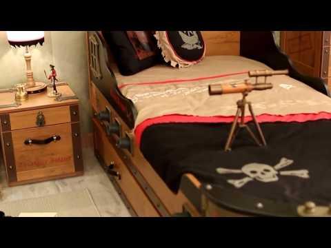 Piraten Kinderzimmer Black Pirate von Cilek