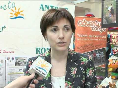 Interviu Ioana Tămaș, președinte Filiala Cluj ANTREC, Târgul Turistica, 25-27 martie, Cluj-Napoca