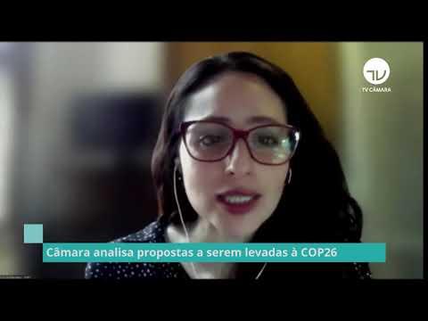 Câmara analisa propostas a serem analisadas à CPO 26 - 13/10/21