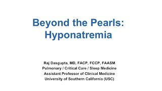 Case Study: Hyponatremia