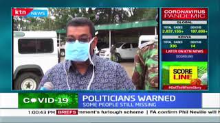 Marakwet Police boss warns against holding rallies while flouting social distancing rule
