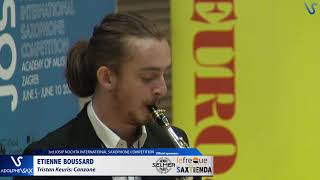 Etienne Boussard plays Canzone by Tristan Keuris