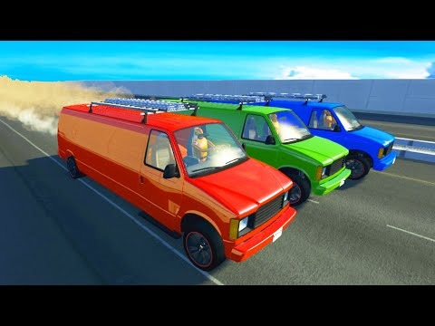 Epic High Speed Crashes 666 - BeamNG DRIVE | CrashTherapy