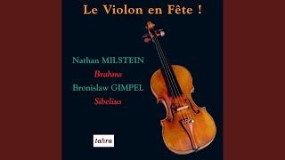 Concerto pour violon, Op. 47, en ré mineur: II. Adagio di molto