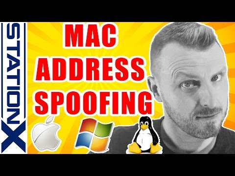Mac Address Spoofing On Windows, Mac OS X And Linux Mp3