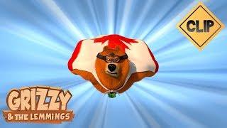 Grizzy en super héros pour sauver sa belle !- Grizzy & les Lemmings