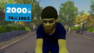 When there's cheaters in the race! | Zwift win