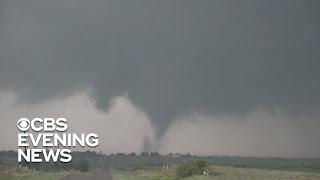 Dangerous tornadoes hit Oklahoma