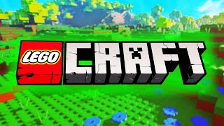 This is what a LEGO Minecraft game would look like