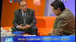 Julián Barra Catacora en la Red Uno de Bolivia 2/2