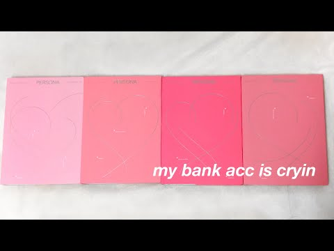 Bts Map Of The Soul Persona Album Unboxing - Hoeforxuxi