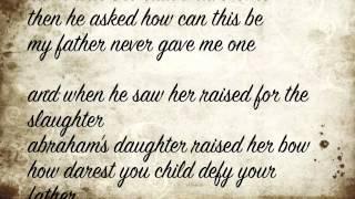 Abraham's Daughter Arcade Fire Lyrics