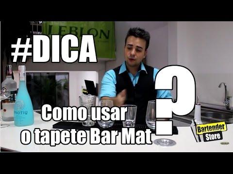 #Dica Como usar o tapete Bar Mat? - Bartender Store TV