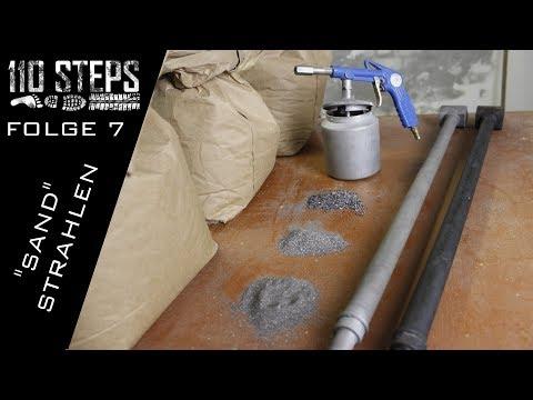 Folge 7 Sandstrahlen aber wie? | Landrover Defender