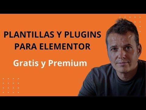 Plantillas para Elementor Gratis y Premium 2020