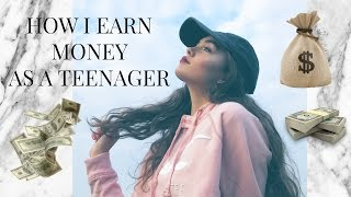 HOW I MAKE MONEY AS A 14 YEAR OLD! | India Grace