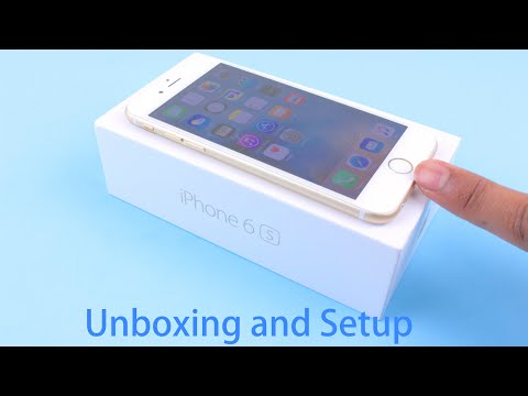 iPhone 6S Unboxing and Setup | 16GB White and Gold