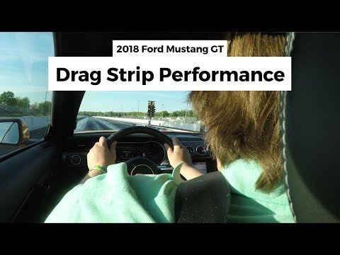 Will Drag Strip mode make a difference of time in our Ford Mustang GT?