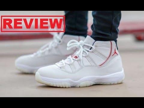549f936b0e8fff Download Air Jordan 11 XI Platinum Tint Retro Sneaker HONEST Shoe Review  -DONT BUY WITHOUT WATCHING! MP3