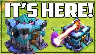 Town Hall 13 REVEALED! Clash of Clans Update Sneak Peek #1!